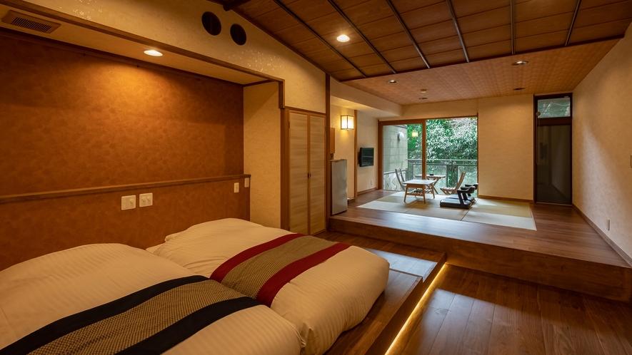 【Cタイプ:桜庭】季節ごとに表情を変える美しい景色を、楽しんでいただけるお部屋です。
