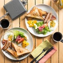 グランピング朝食イメージ