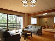 コテージ(89~96平米)和室×2間+リビング付