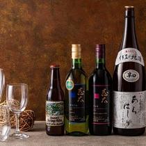 伊豆市の地酒で乾杯!