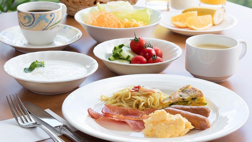 朝食ブッフェ(洋食)
