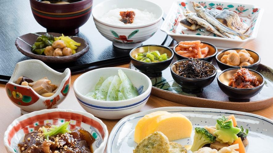 朝食ブッフェ(和食)