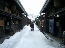 古い町並 【冬】