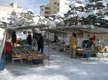 陣屋朝市 【冬】