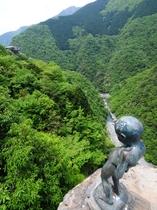 【小便小僧】覗き込むだけで、渓谷に吸い込まれそうになりますよ!?