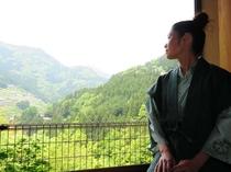 お部屋からの景色も旅の楽しみの一つですよね!