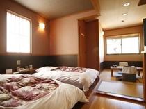 和式ベッドルームの一例