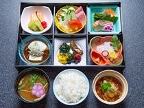 松花堂弁当(朝食)