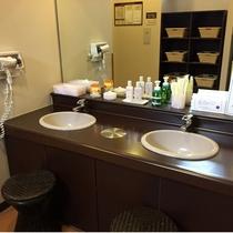 ◆女性浴場洗面台