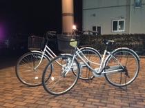 無料貸出用の自転車もございます。利用時間1時間程度  コンビニは700mから1km圏内に4件