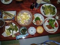 和食(山菜、郷土料理)