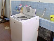 【 ランドリー】1回200円(洗剤込) 乾燥機はありません。