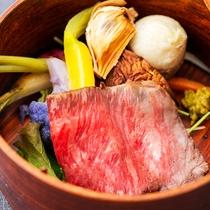 地元産の食材が持つ味を最大限引き出したお料理は思い出に残る深い味わい