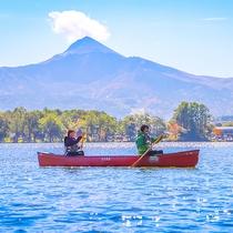 【猪苗代湖】福島県のシンボル『磐梯山』 湖から見上げる姿は圧巻の一言