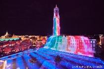 ハウステンボス(光の王国・七色の光の滝)