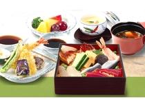 ちらし寿司と天ぷら膳 1,680円(税込) グランドメニュー