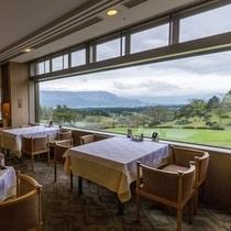 ■レストラン■ 絶景!外輪山のパノラマ風景