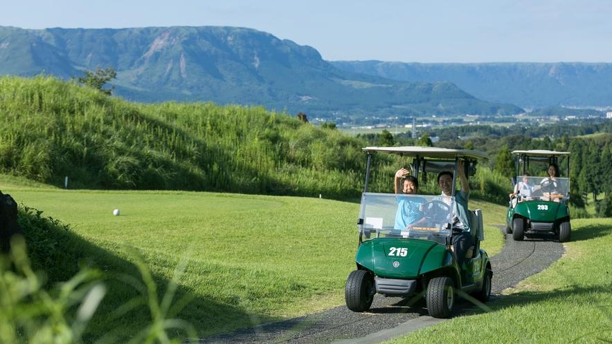 <ゴルフ場>当ホテルにはゴルフ場もございます