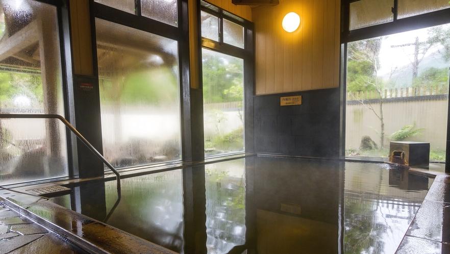 <温泉>源泉かけ流し天然温泉 内湯