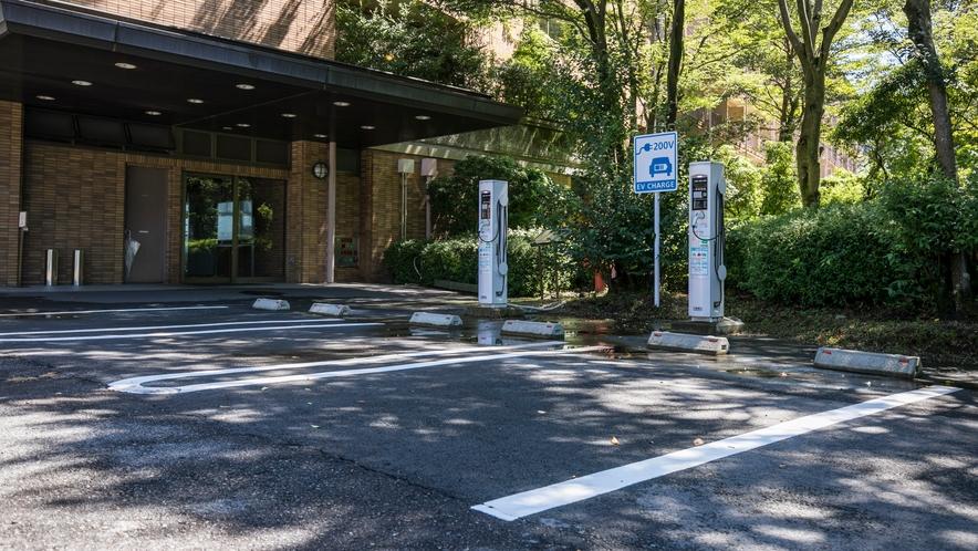 <駐車場>電気自動車用駐車スペースございます