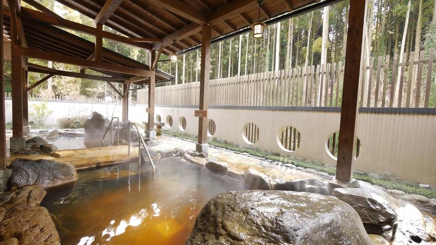 <大浴場>米塚天然温泉のしっとりとした温泉をお楽しみください