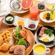 <食事>洋食朝食セット