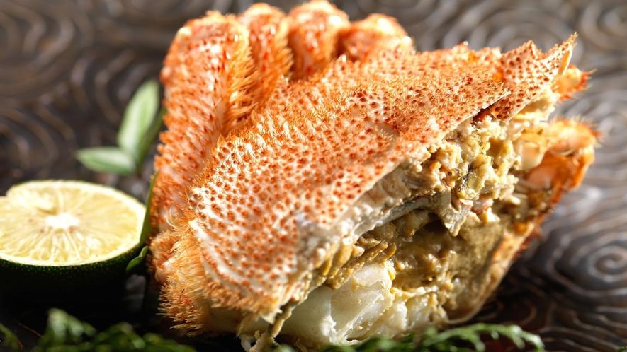 ◆カニ会席一例/北海道の味覚!毛ガニは甘い身とカニみそが特徴♪