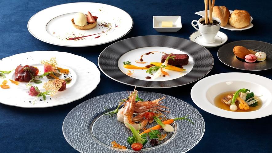 ◆オホーツクフレンチ一例/オホーツクの食材をふんだんに使用したコース料理