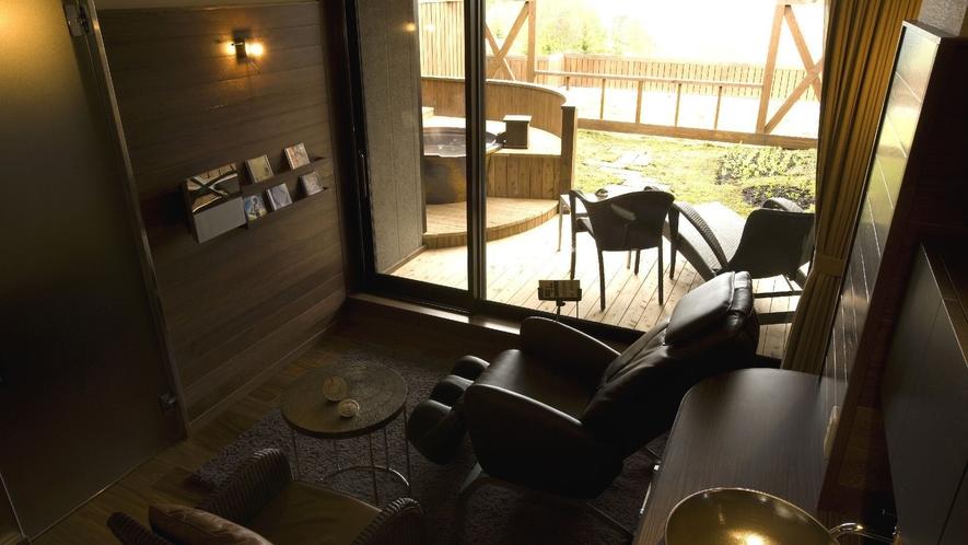 ◆【露天風呂付】和洋室/オーディオやマッサージチェアなどくつろぎもご用意しました。