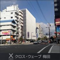 当館の先に扇町駅・天満駅があります☆
