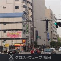 大阪駅・梅田駅方面から撮影アップ