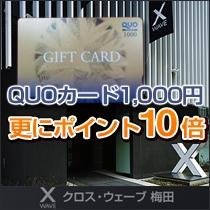 ☆QUOカード1,000円+楽天ポイント10倍プラン
