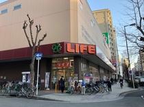 近隣にスーパーがあります☆(深夜2時まで営業)