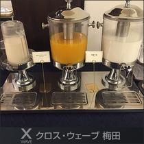 ★朝食バイキングドリンク