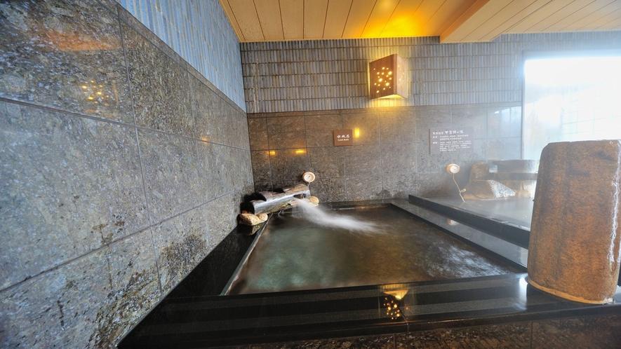 ■【男子】人肌の湯(夏場の水温:22~24℃/冬場の水温:12~14℃)