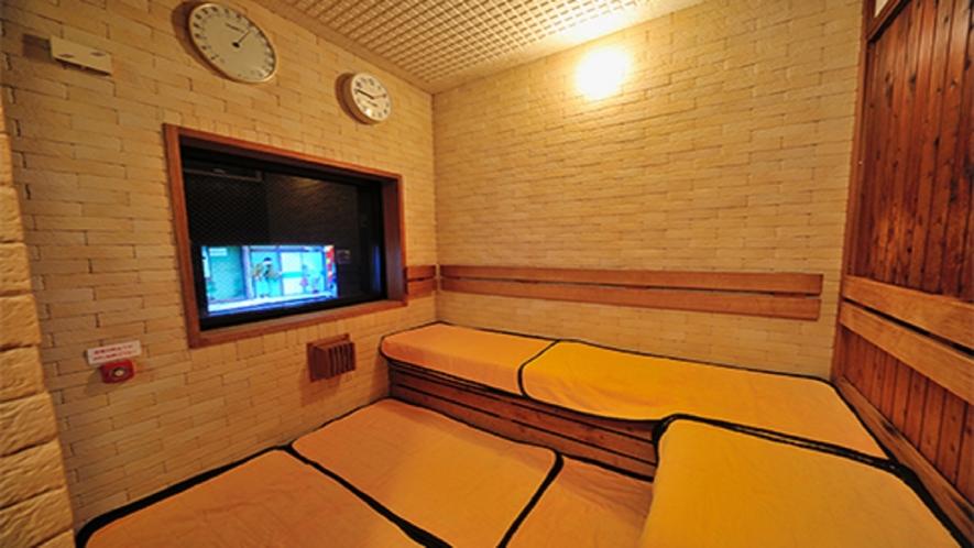 ■【女性】大浴場サウナ15:00~翌1:00、5:00~10:00(定員3名)室温96℃