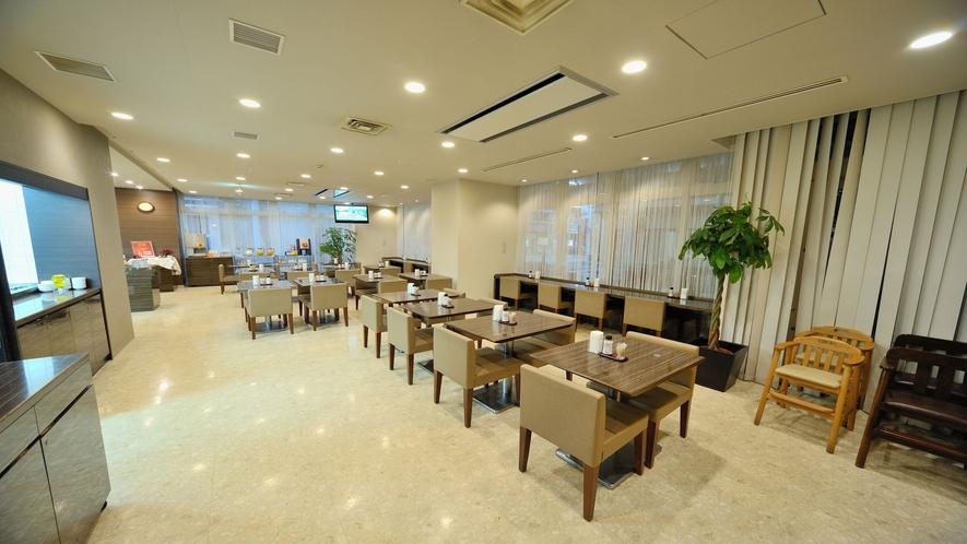 ■朝食レストラン1F旅籠-(47席ございます)