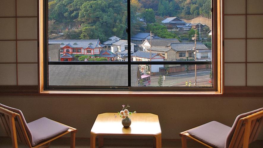 【標準和室】窓からの眺め