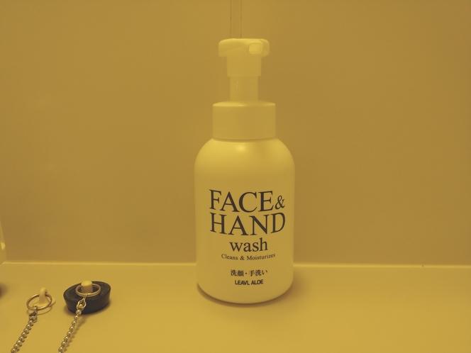 洗顔手洗い泡ソープ