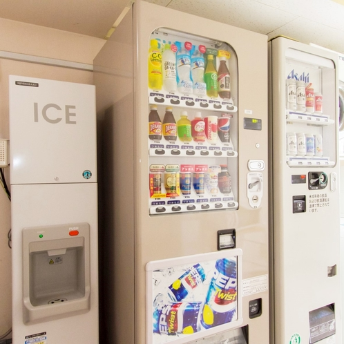 製氷機・自動販売機