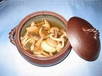 キノコスープ