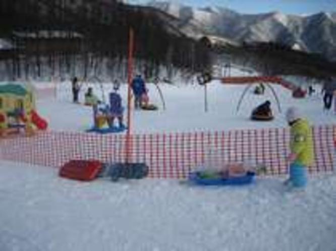 スキー場キッズランド