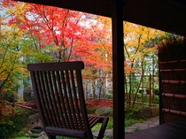 閑古錘の部屋から眺める紅葉3