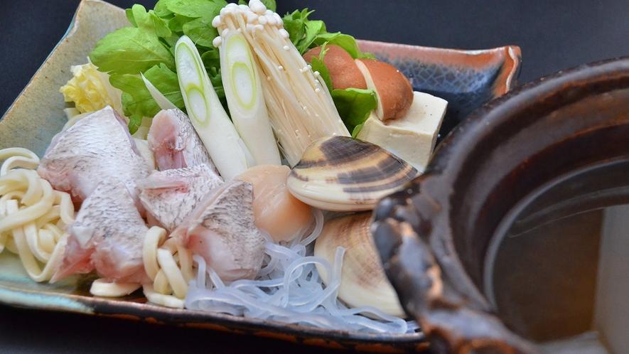 【夏懐石】鍋