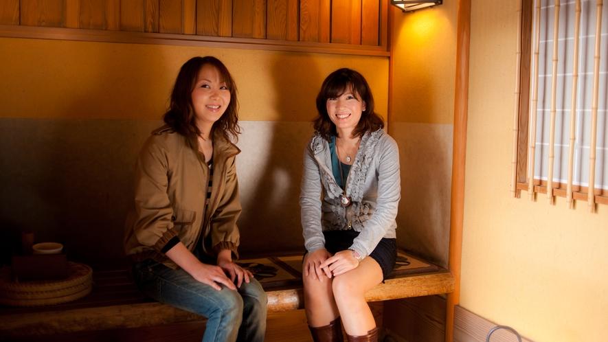 【滞在イメージ】茶室風の空間で優雅な時間を楽しむ