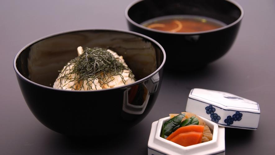【秋懐石】お食事