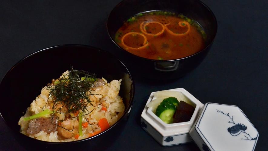 【冬懐石】お食事