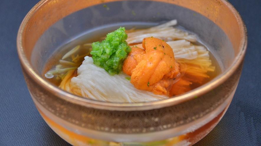 【夏懐石】山芋素麺