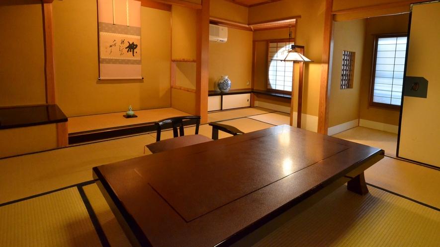 数寄屋 和風書院 スタンダードタイプ【硯水の間】/日本建築の美の真髄を醸し出してます