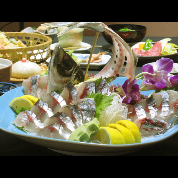 関アジ料理-4